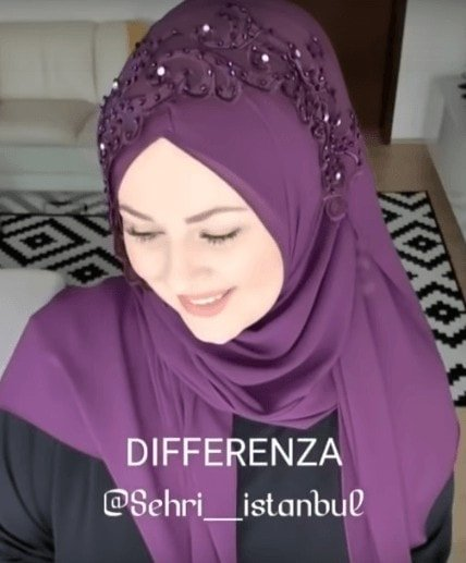 Very Easy Yet Beautiful Hijab Style for Weddings