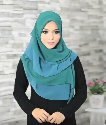 shifon hijab style tutorial for women