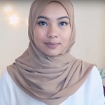 Super Easy Chiffon Shawl Hijab Tutorial