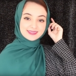 The best hijab style you can make with any hijab material