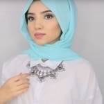 Simple Hijab Style for Work In New Ways