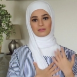 Round Face Hijab Style For A Beautiful Look