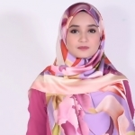 Satin Long Hijab Style tutorial