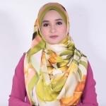 Simple Cameo Roll New Hijab Style - satin hijab