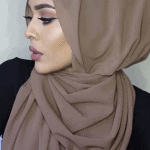 GREAT HIJAB STYLE WITHOUT PINS