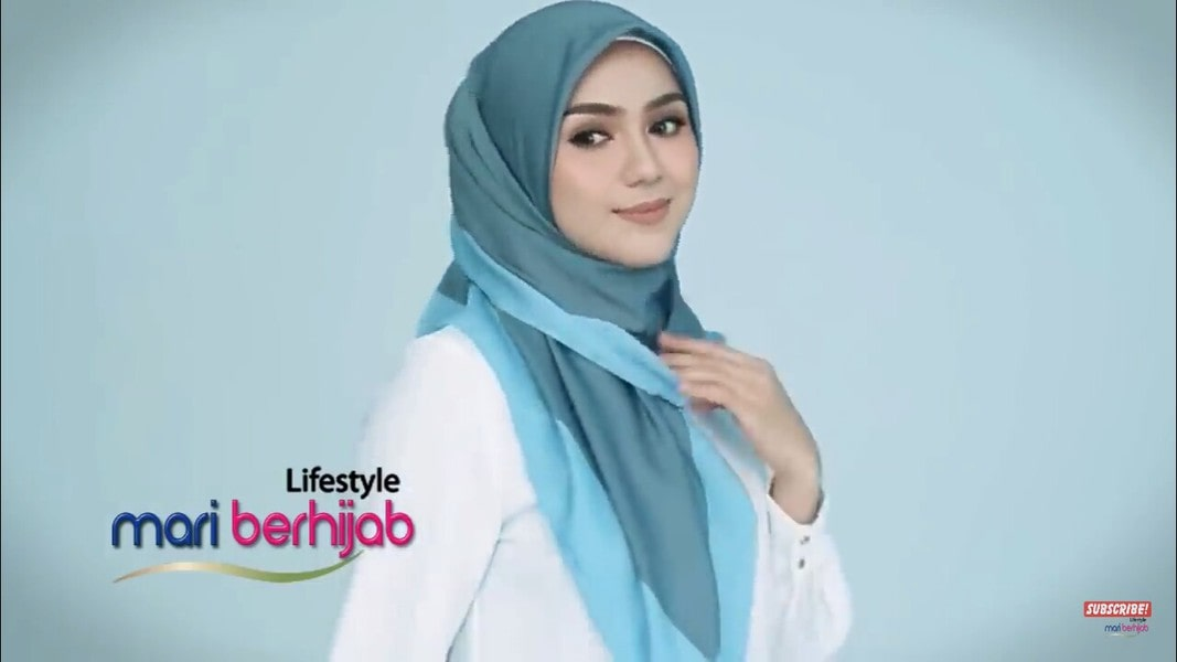 Amazing And Easy Satin Hijab Style Quick To Wear