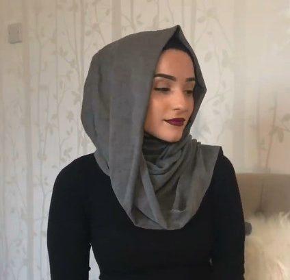 No hijab pins - hijab TUTORIAL
