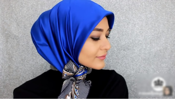 A Different Square Scarf Hijab Style Tutorial