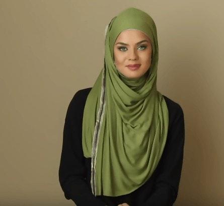 لفات حجاب جل طويلة