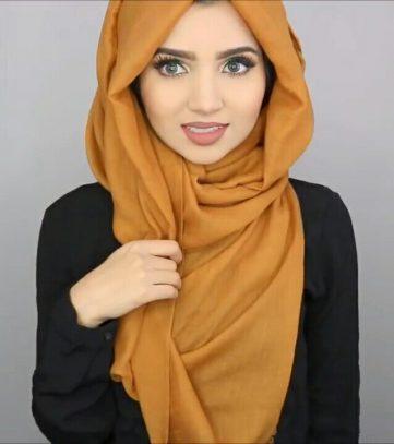 لفات حجاب طويلة وشيك