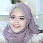 (3)لفة حجاب تركي رائعة لصاحبات الوجه الممتليء