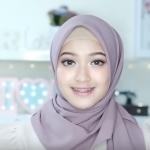 (4)لفة حجاب تركي رائعة لصاحبات الوجه الممتليء