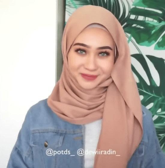 لفات حجاب بسيطة تركية