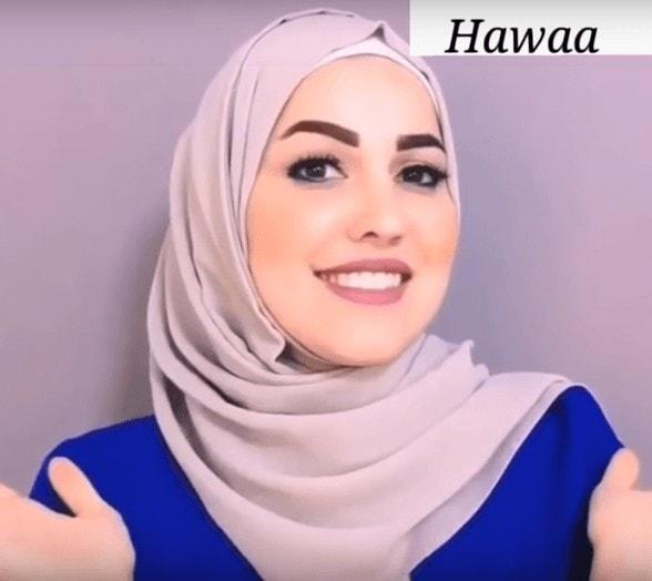 لفات حجاب جميله