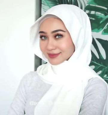 لفات حجاب للوجه الدائري