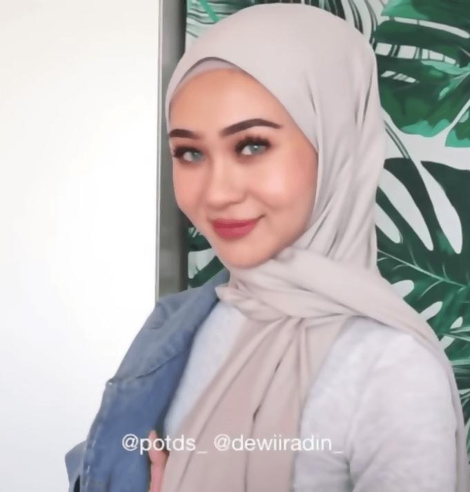 لفة حجاب للجامع من اجمل طرق لف الحجاب