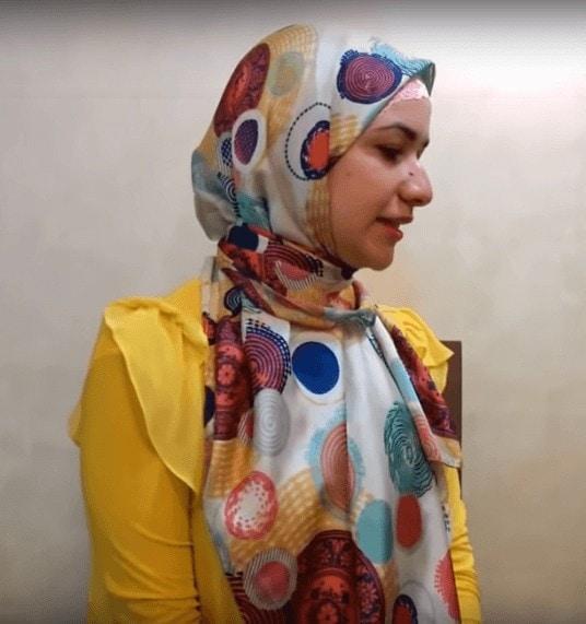 إليك أجمل لفات حجاب طويل