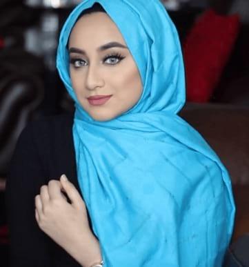 لفة حجاب تركي طويلة وشبابية
