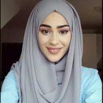 لفة حجاب بسيطة وسهلة 1