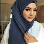 لفة حجاب بسيطة وسهلة 2