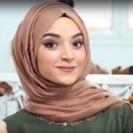 لفات حجاب للوجه النحيف
