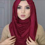 لفات طرح - لفة حجاب أنيقة 3