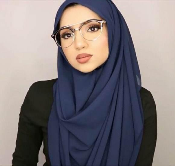 لفات حجاب طويل خمار ستايل