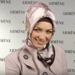 لفة حجاب سوري لللمناسبات