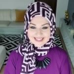 لفات حجاب للوجه البيضاوي جميلة وأنيقة