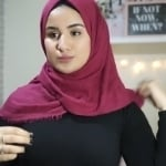 لفة شالة جديدة لكل يوم في أقل من دقيقة _ لفات حجاب7