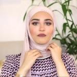لفة حجاب تجعلك مميزة كالمشاهير _ لفات حجاب1