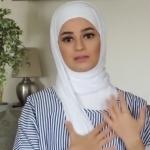 طريقة سهلة للفة الإيشارب_ لفات حجاب1