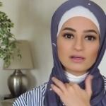 طريقة سهلة للفة الإيشارب_ لفات حجاب2
