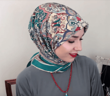 لفة حجاب للمدرسة والجامعة