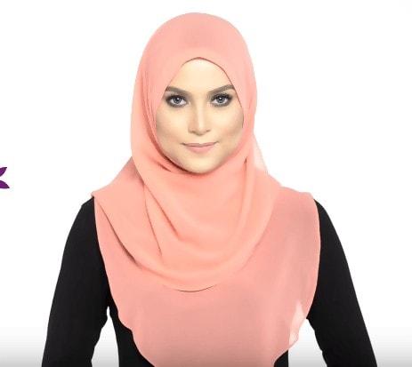 طريقة لف الحجاب الشرعي