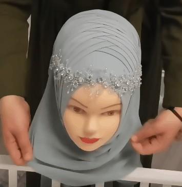 لفات حجاب للأعراس