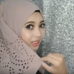 """""""لفة شالة مميزة للأفراح """"لفات حجاب 3"""