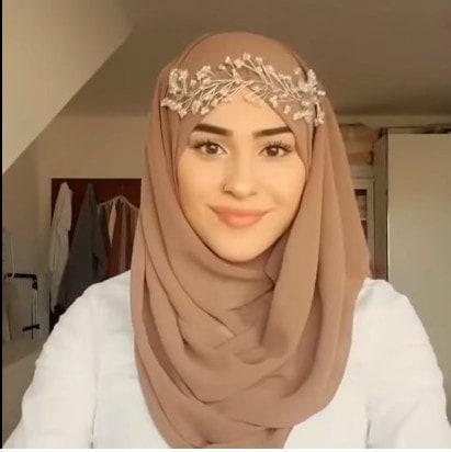 لفة حجاب للمناسبات والعيد