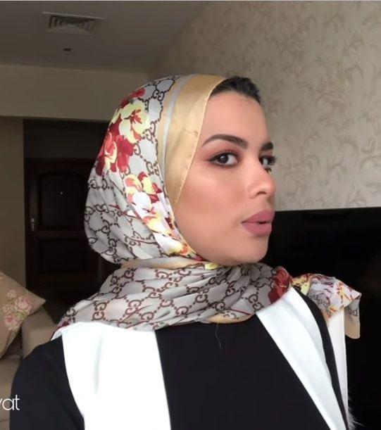 لفات حجاب ستان مربوطة للوراء