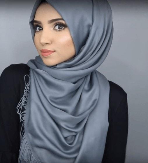 لفات حجاب انيقة وسهلة