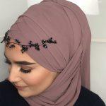 لفات حجاب للمناسبات - لفة مميزة