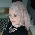 لفة حجاب تركي لرمضان