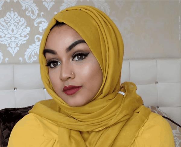 لفات حجاب - لفة حجاب بسيطة وسهلة 1