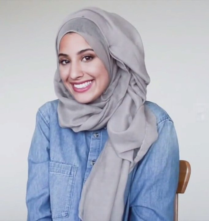 طرق لف الحجاب للمدرسة