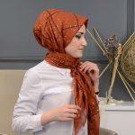حجاب تركي - طريقة لف الإيشارب للرقبة الطويلة
