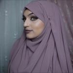 لفة حجاب شيفون سهلة وبسيطة
