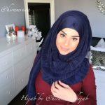 لفات حجاب جديدة - أفضل الطرق للف الحجاب 2