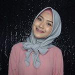 لفات حجاب بسيطة - طريقة لف الاسكارف المربع 2