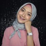 لفات حجاب بسيطة - طريقة لف الاسكارف المربع 4
