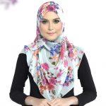 طريقة لفة حجاب بالشال